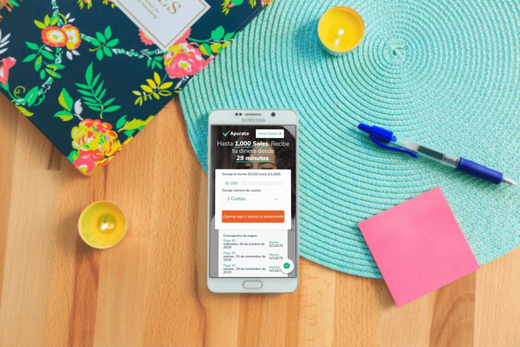 Simulador de préstamos online